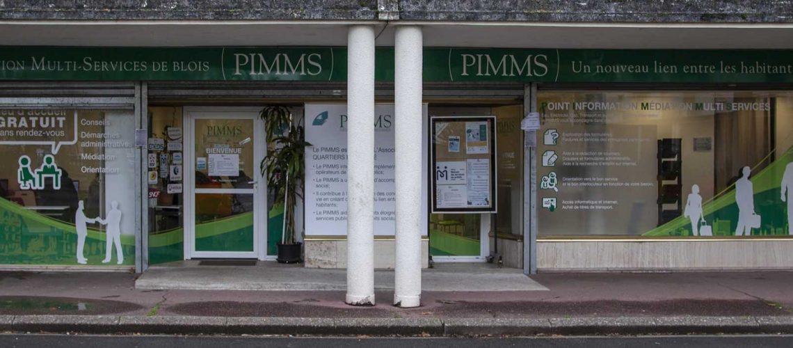 PIMMS façade